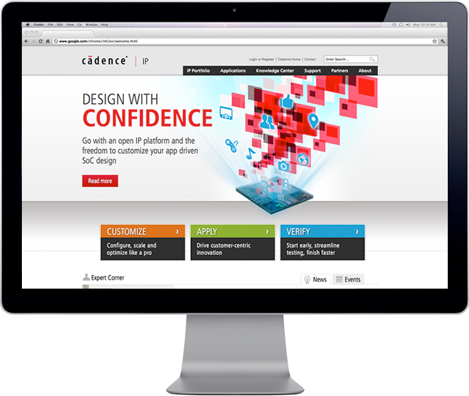 Cadence IP website