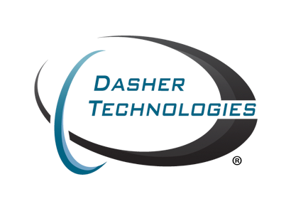 Corporate brochure and slide deck for Dasher Technologies