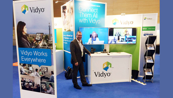 Booth design for Vidyo